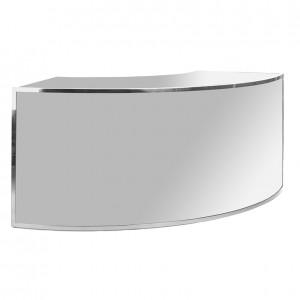 avenue 1_4 round ss silver plexi