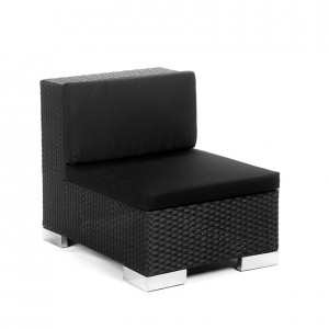 savoy middle black black cushion