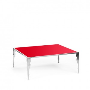 carlton table ss w_astaire legs red plexi