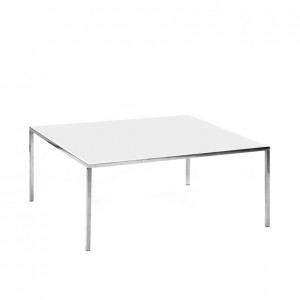 carlton table ss white plexi