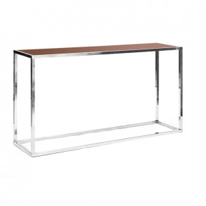 clift communal table brown plexi