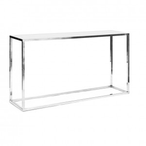clift communal table white plexi