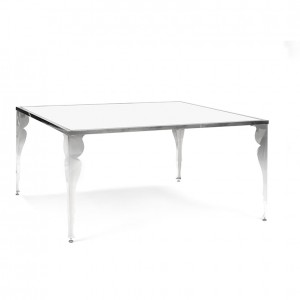 epoque table white plexi