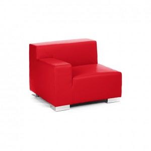 mondrian end sitting right red