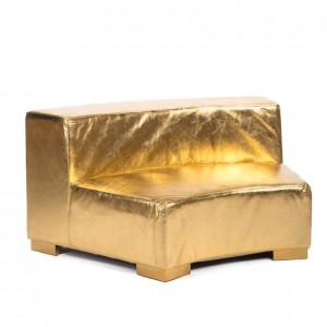 mondrian round gold