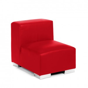 mondrian sofa middle red