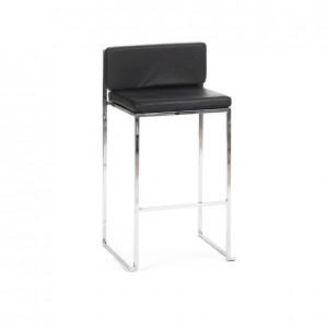 paramount stool ss black cushion
