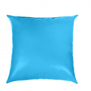 Pillow - Leather - Blue