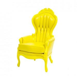 Elizabeth chair-yellow-S