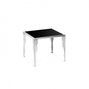 astaire table ss black plexi