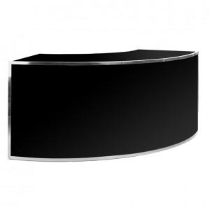 avenue 1_4 round ss black plexi
