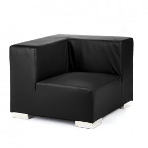 mondrian corner  black