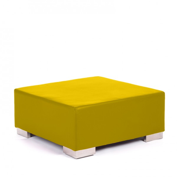 opus ottoman lemon yellow