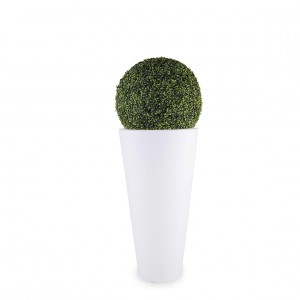 Scala Illuminated Planter with Topiary1
