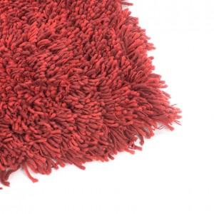carlyle shag rug crimson