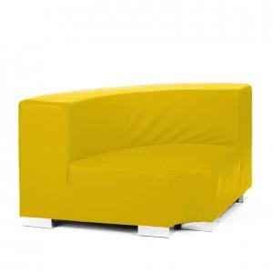 mondrian corner inside lemon yellow