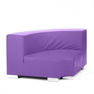 mondrian corner inside violet