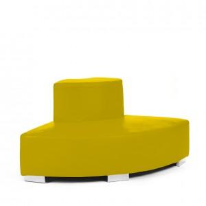 mondrian corner outside lemon yellow