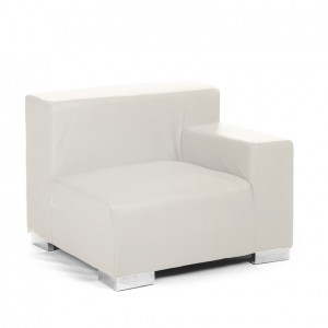 mondrian end sitting left creme