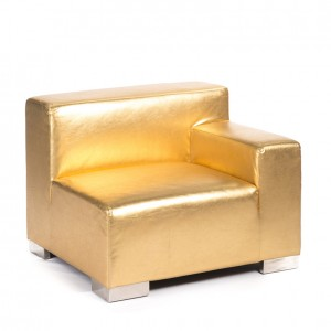 mondrian end sitting left gold