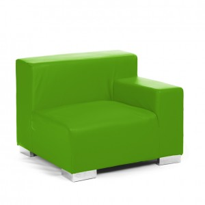 mondrian end sitting left lime