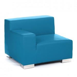mondrian end sitting right cyan blue