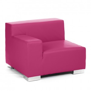 mondrian end sitting right fushia