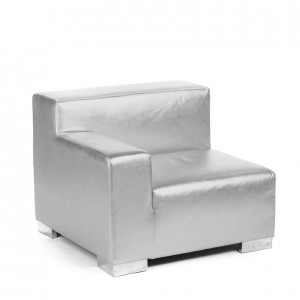 mondrian end sitting right silver