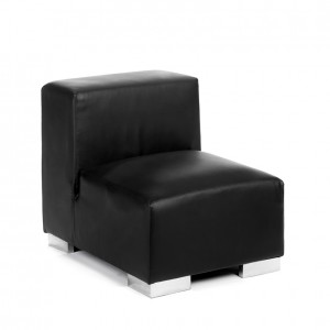 mondrian sofa middle black