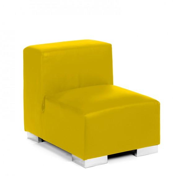 mondrian sofa middle lemon yellow