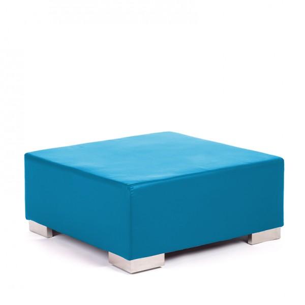 opus ottoman cyan blue