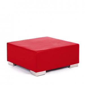 opus ottoman red