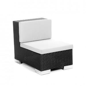 savoy middle black grey cushion
